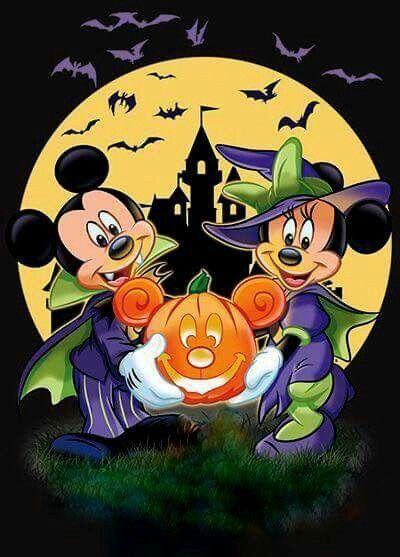 Disney Mickey and Minnie Mouse Pinterest Disney halloween