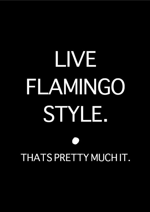 LIVE FLAMINGO STYLE