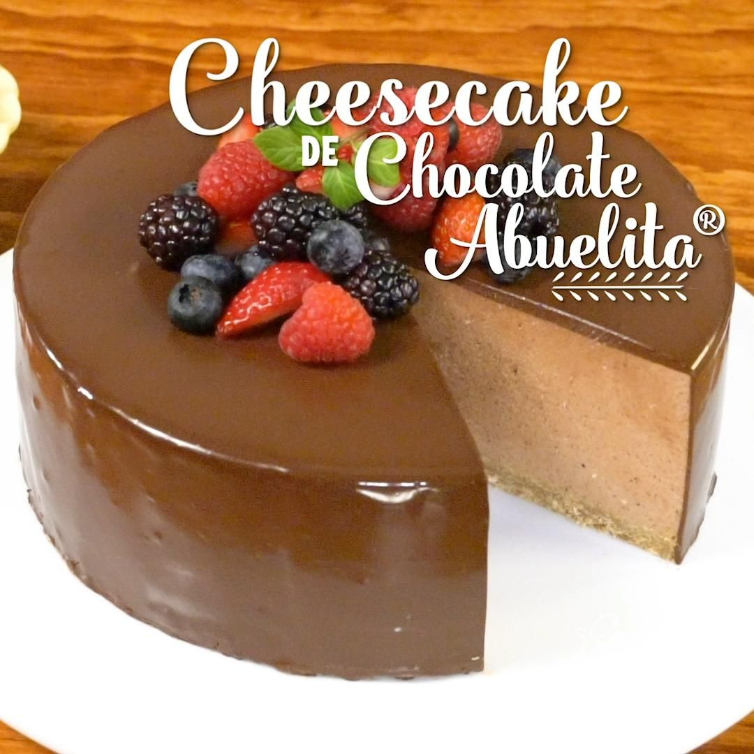 Cheesecake de Chocolate Abuelita