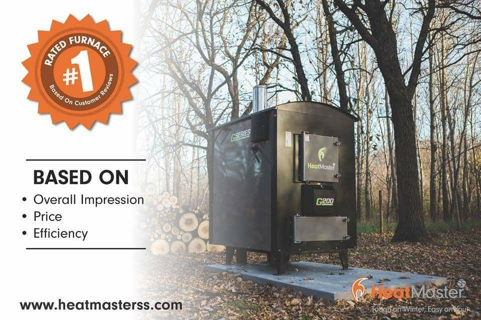 Heatmaster S G Series Is The Best Outdoor Wood Boiler On Market According To Customer Reviews