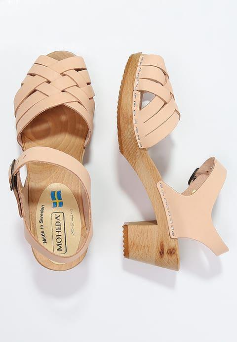 Köp  Moheda Toffeln BETTY - Clogs - nude för 599,00 kr (2017-06-13) fraktfritt på Zalando.se