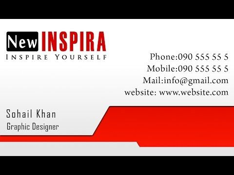 Photoshop tutorial make business card 5 places to visit photoshop tutorial make business card 5 reheart Choice Image