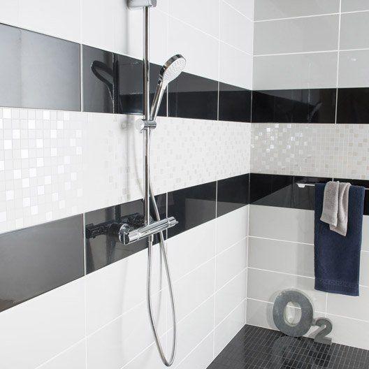 Mosaique Mur Loft Blanc Blanc N 0 Carrelage Salle De Bain Salle