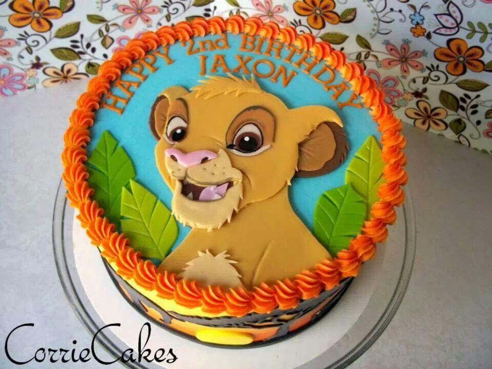 Pumba Cake: Cake, Lion King Party