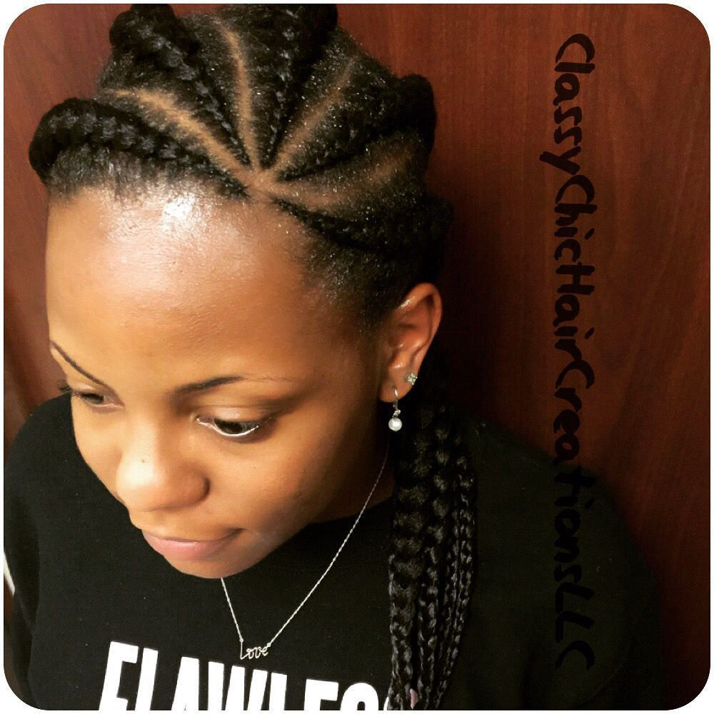Cute african braids cutecornrows naturalhair cutehair