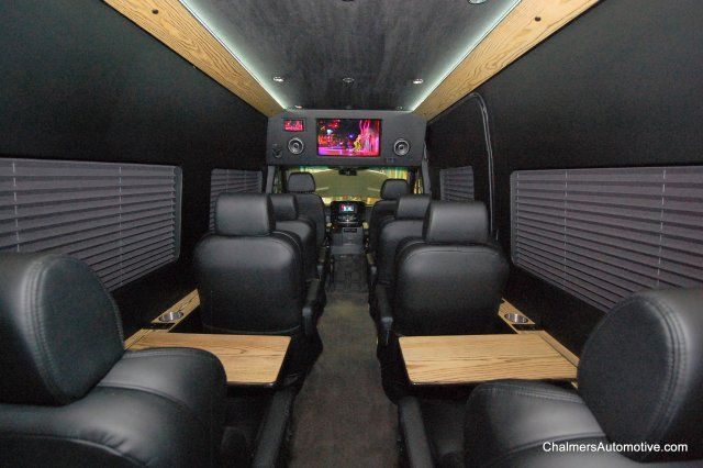 Mercedes Sprinter Van Conversions Benz Luxury 12 Penger Conversion