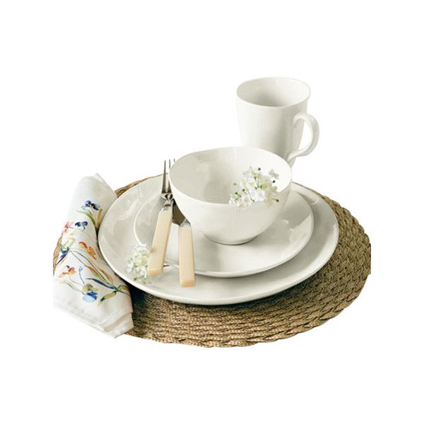 Over & Back Summit Lake 16 Piece Dinnerware Set White  sc 1 st  Pinterest & Found it at Joss \u0026 Main - 16-Piece Samantha Dinnerware Set | Dishes ...