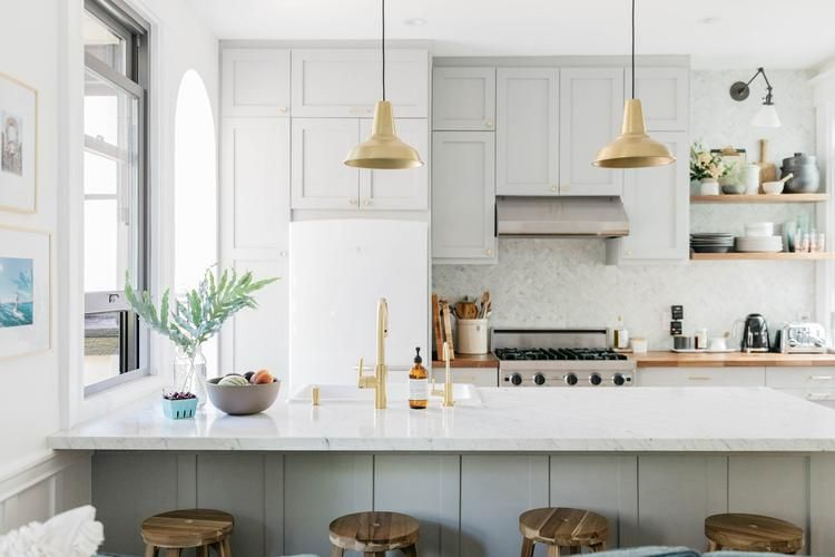 Bringing Light To A Closed In San Francisco Kitchen Interior