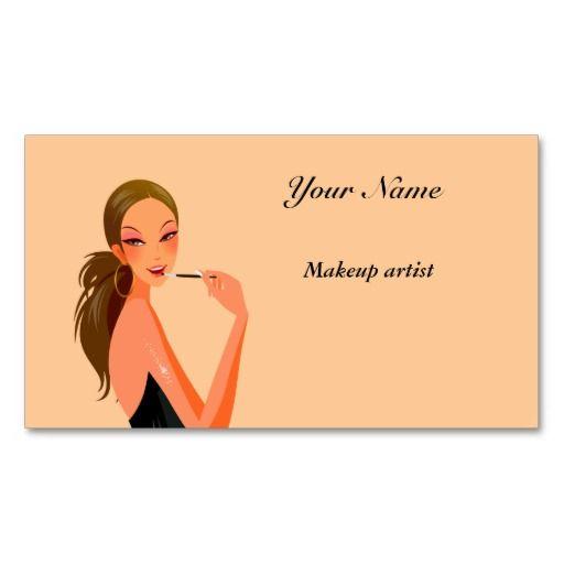 Makeup Artist Business Card Choose Your Colour Makeup Artist Business Cards Makeup Artist Business Cards Templates Makeup Artist