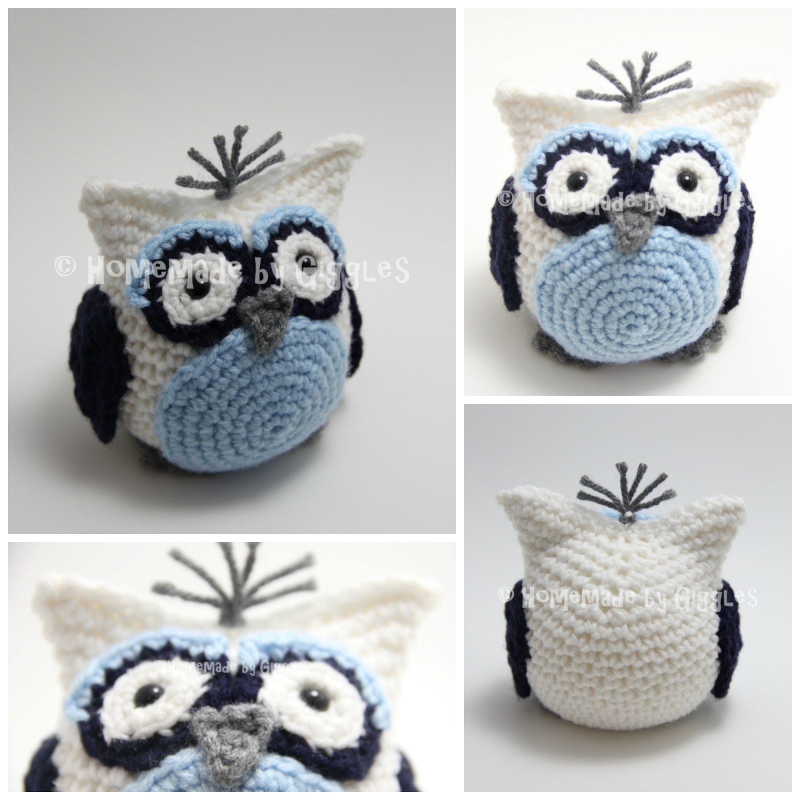 Homemade by Giggles: Bean Bag Owl - FREE Crochet Pattern! | Annien ...