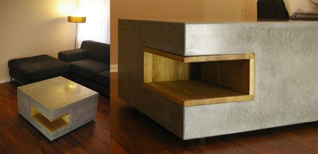 couchtisch 80x80 beton produkte pinterest couchtisch 80x80. Black Bedroom Furniture Sets. Home Design Ideas