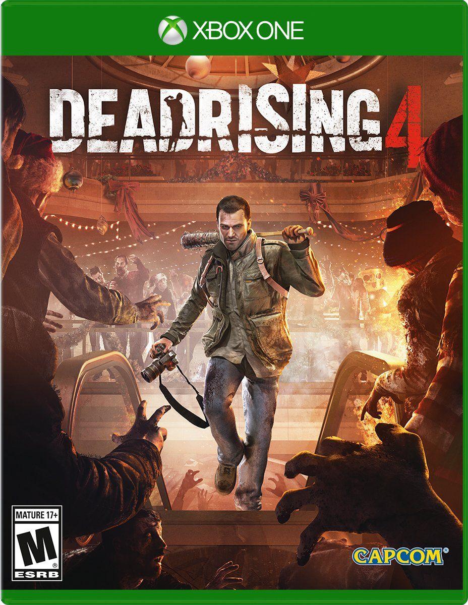 Dead Rising 4 Dead rising, Xbox one, Xbox one games