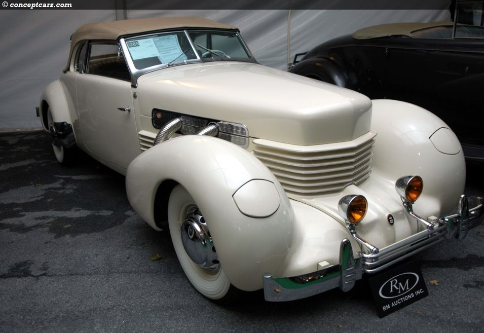 Cord 812 Supercharged — Gordon Buehrig\'s masterpiece. Can you tell ...