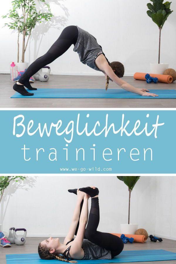 Mit diesen bungen fr zuhause kannst du deine Beweglichkeit verbessern. Das Workout fr zuhause ist au...