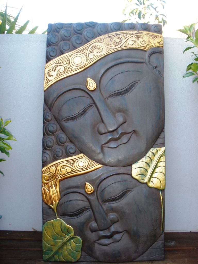 large buddha wall carving enlightenment pinterest