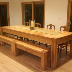 Natural Hickory Dining Room Table  Httpecigcoach Inspiration Hickory Dining Room Sets Review