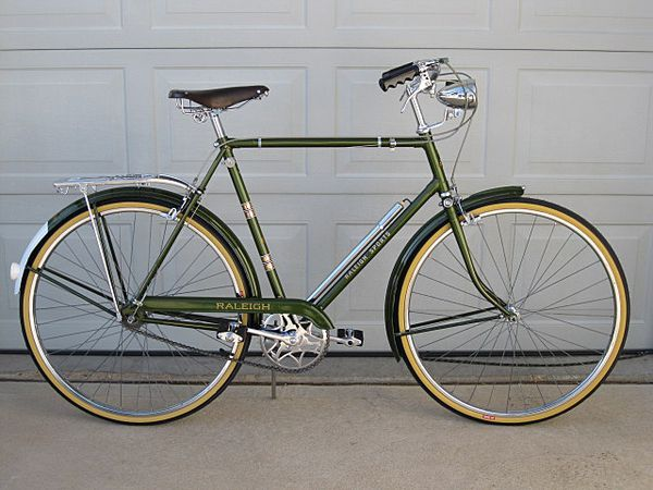 Vintage raleigh bikes value