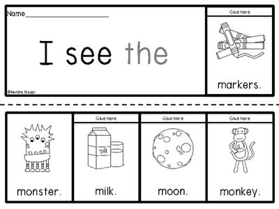 McGraw Hill Wonders Sight Word Mini Books from For The Love Of ...