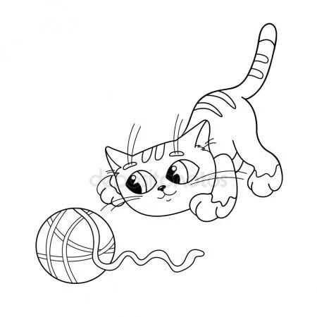 раскраски кошки и мышки распечатать бесплатно: 14 тыс ...