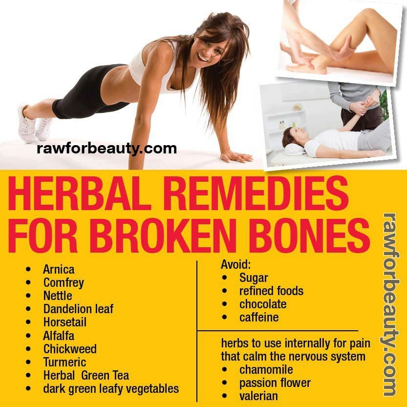 Herbal Remedies For Broken Bones Heal Broken Bones Broken Bone Herbalism