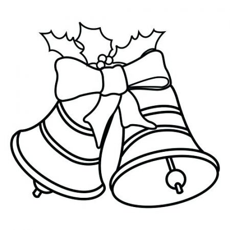 Campanas De Navidad Para Colorear Campanas De Navidad Grandes Para Colorear Dibujos De Navidad Campanas De Navidad Campanas Navidenas