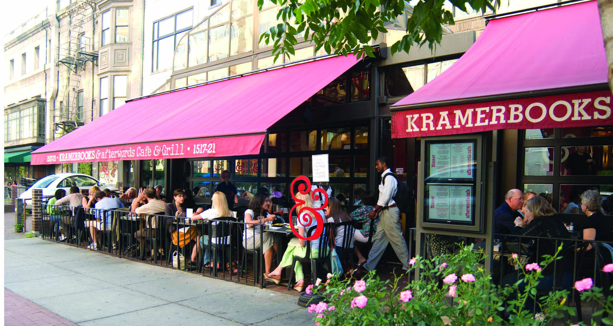 Kramerbooks Afterwords Cafe Dc Travel Dc Area Area Restaurants