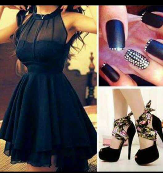 This is lovely dress to wear for a date