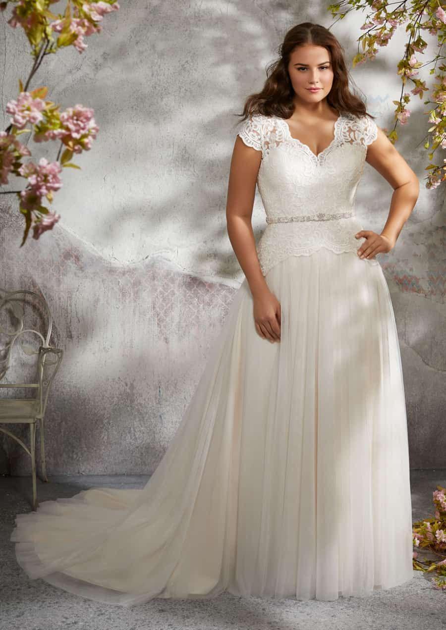 Plus Size Wedding Dress Style