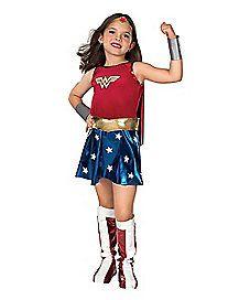 Wonder Woman Deluxe Child Costume