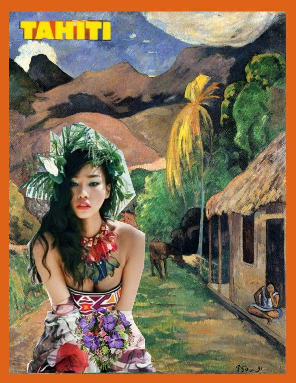 """Tahiti (trip #27)"" by perua4 ❤ liked on Polyvore"