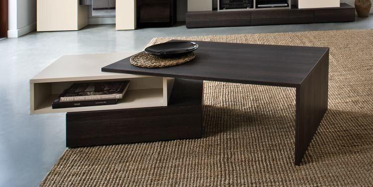 Table basse design - Table basse design et modulable avec rangements