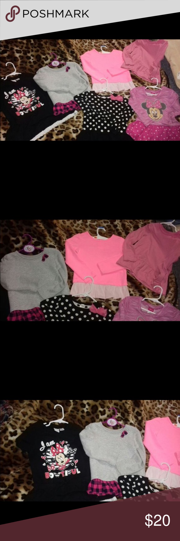 Toddler girl  bundle Great condition💕💕💞🦄 all size 5T fast shipping Shirts & Tops Tees - Long Sleeve