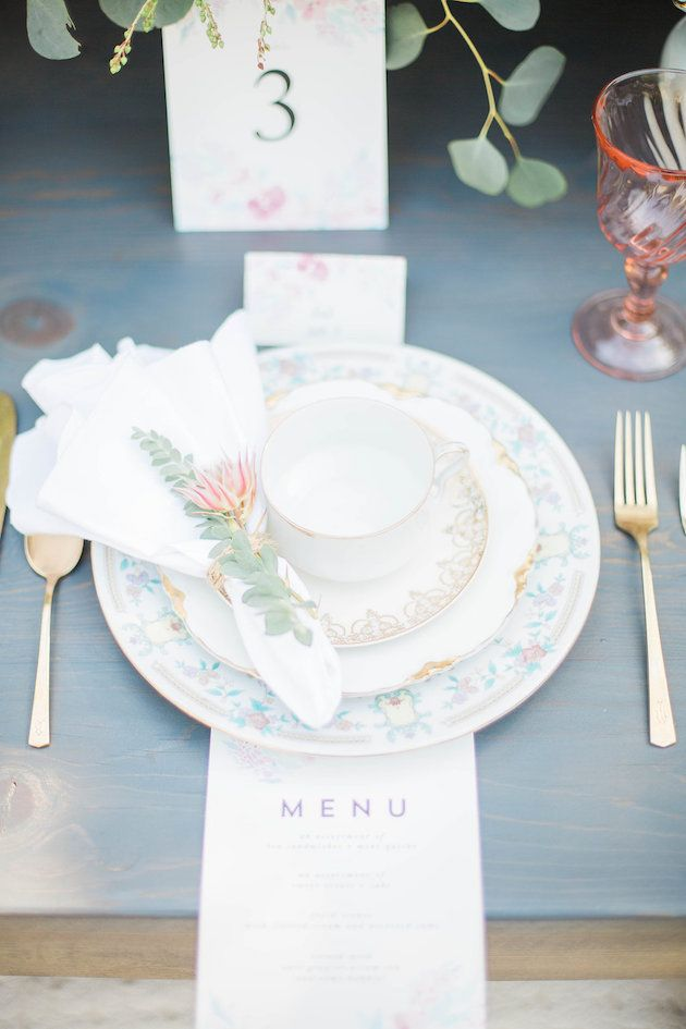 Pretty Afternoon Tea Garden Wedding Inspiration The Decorations
