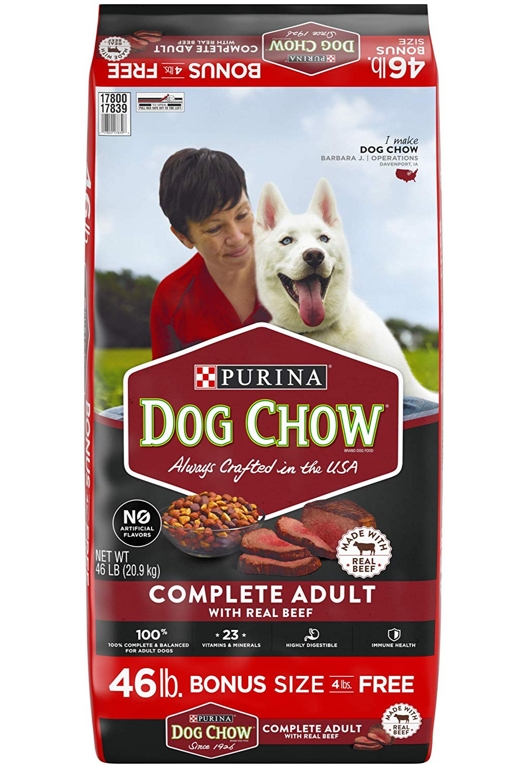 Purina Dog Chow Complete With Real Beef Adult Dry Dog Food In 2020