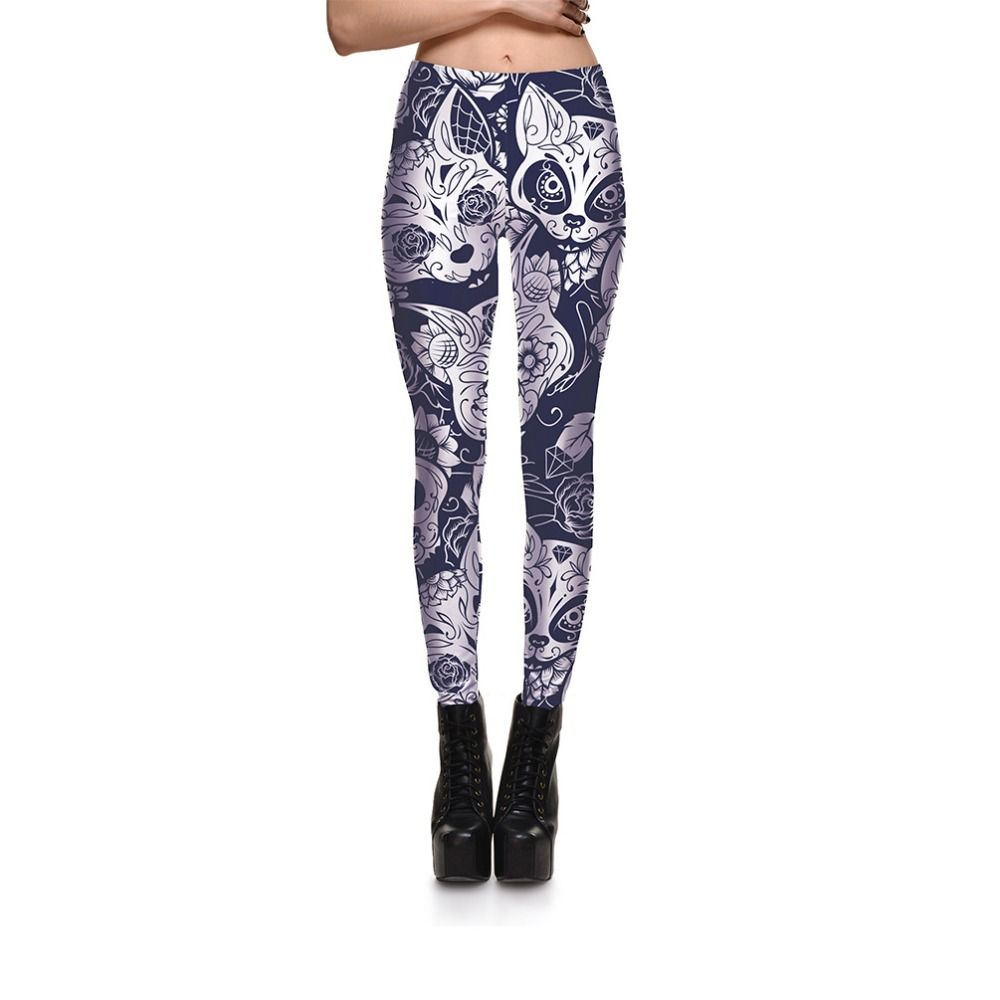 d3250adb1dfa90 Women's Leggings with Fashion White Cats Price: 12.87 & FREE Shipping  #hashtag1