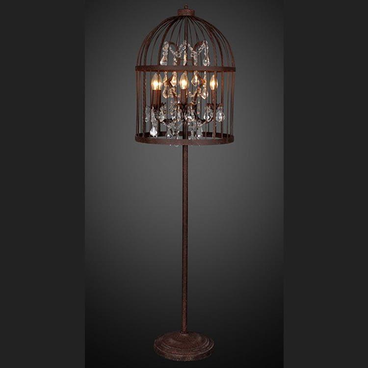 Marvelous LeMeubles Vintage Bird Cage Floor Lamp From LeMeubles.com