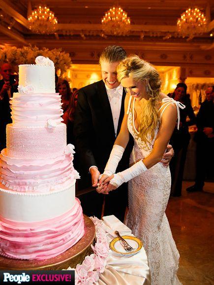 Donald Trump S Son Eric And His Bride Lara Yunaska On November 8 2017 She