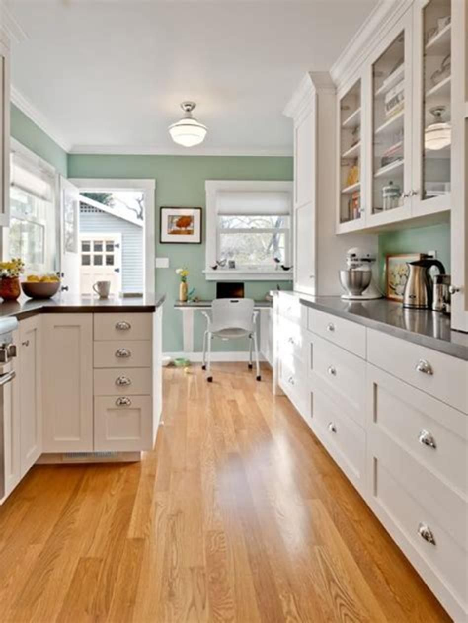 46 most popular kitchen color schemes trends 2019 green on good wall colors for kitchens id=24268