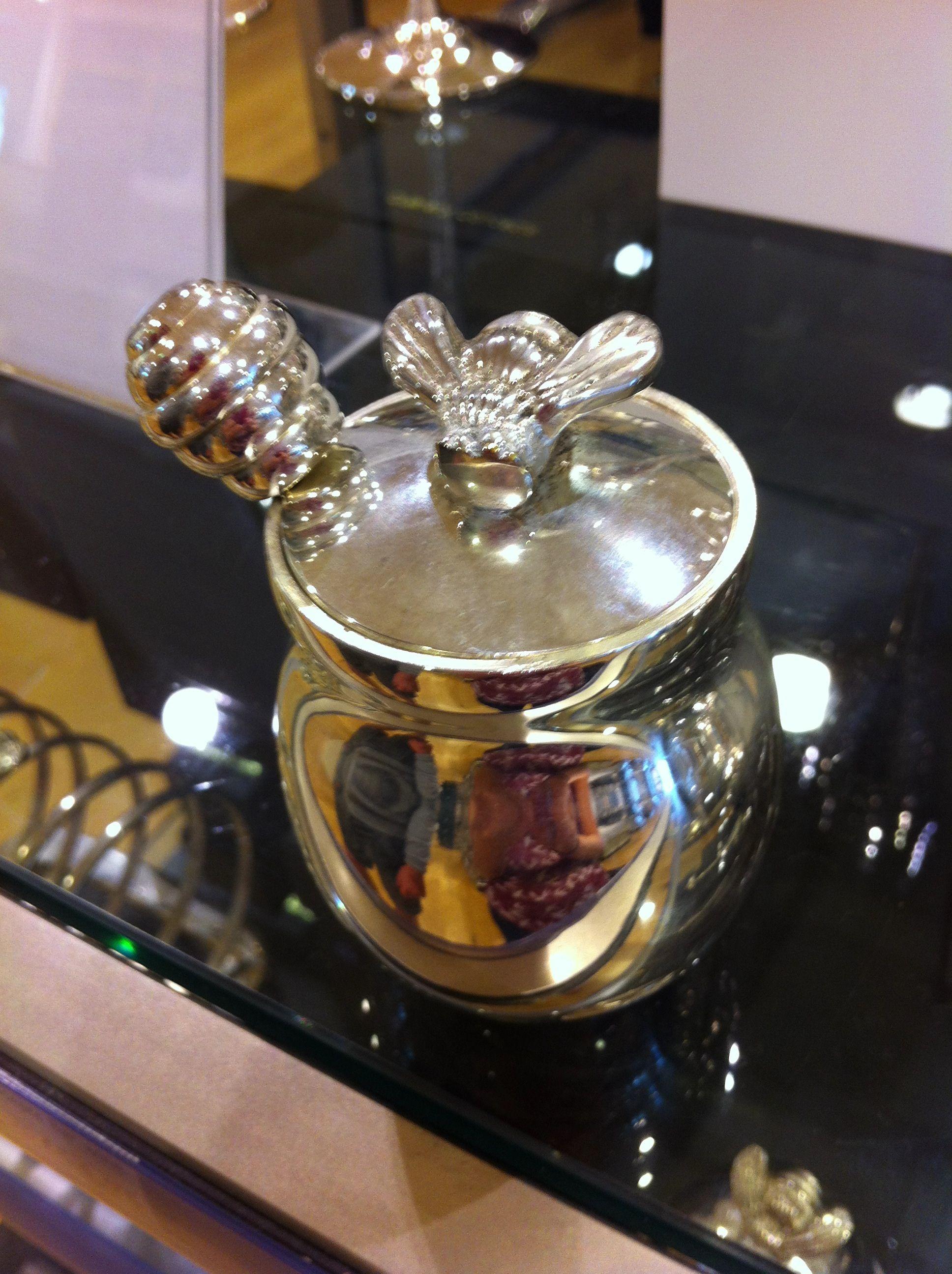 Cute honey jar