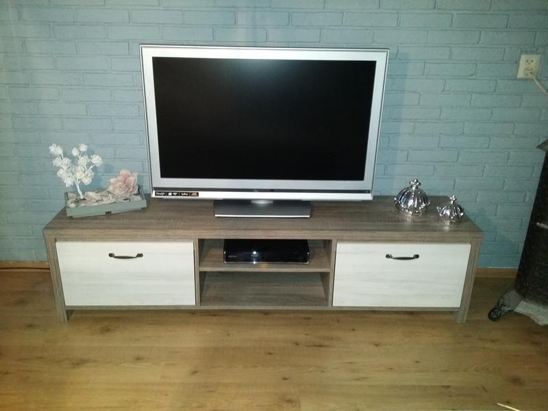 Tv Kast Leenbakker.Tv Dressoir Hamburg 41 5x166x39 Cm Leen Bakker Dressoir