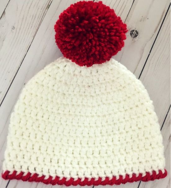 Easy Peasy 30-Minute Beanie Free Crochet Pattern | Pinterest ...