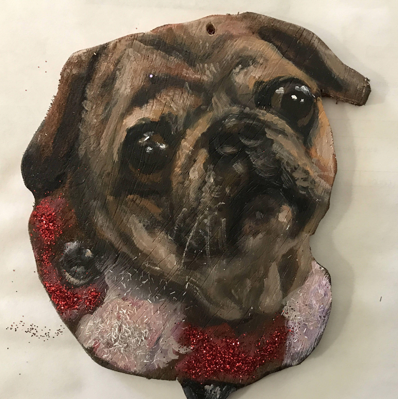 Custom pet ornament, Animal ornament