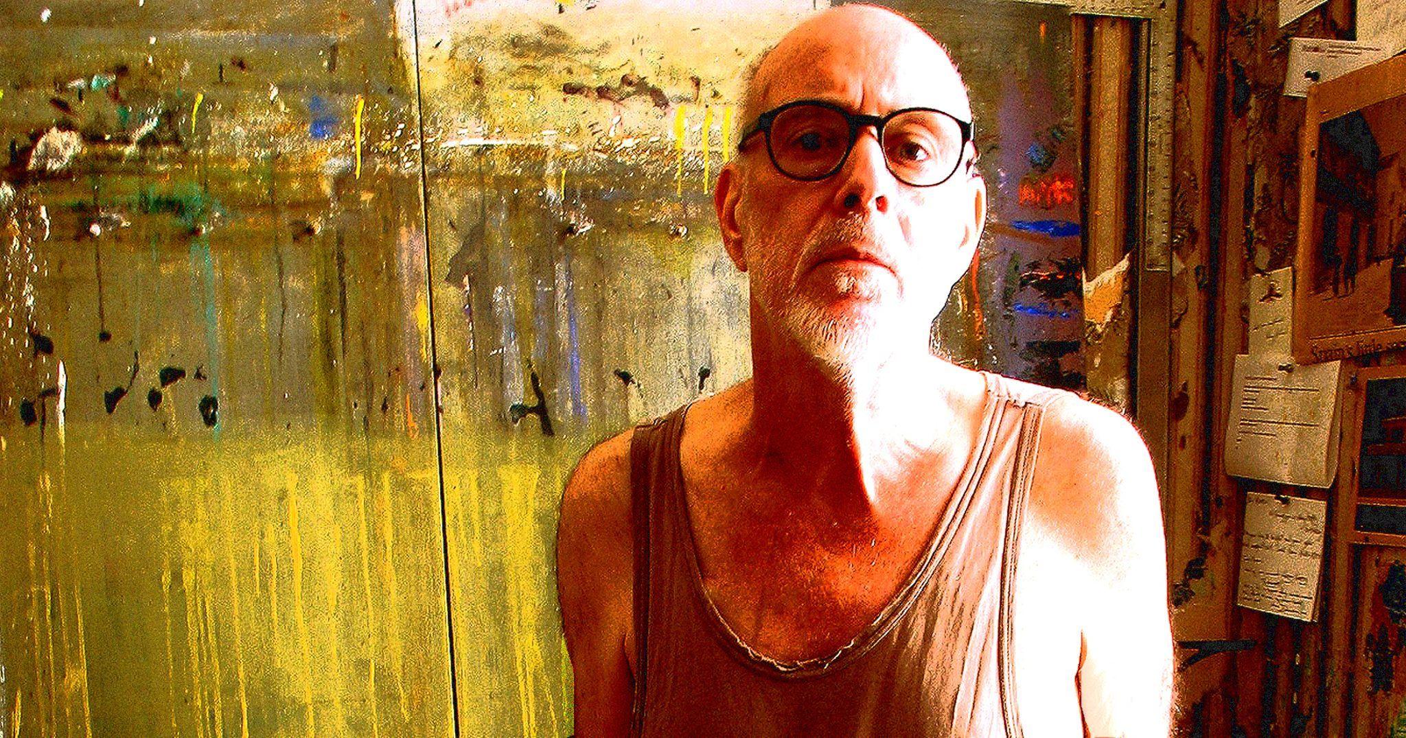 Marcus Reichert in his studio.