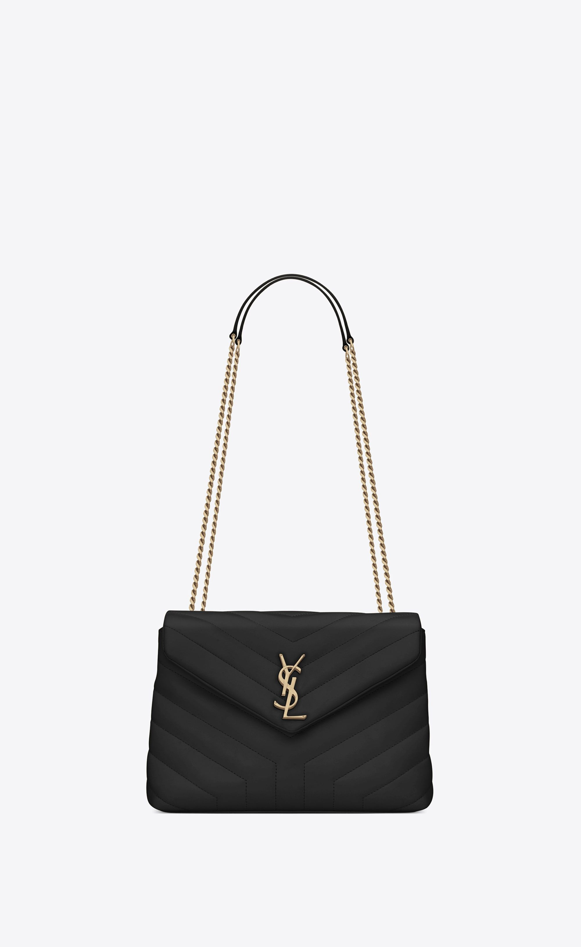 """Saint Laurent Loulou Small In Matelassé """"Y"""" Leather  19bf5abbc05ad"""