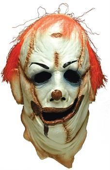 Horror Film SCARY Deluxe Evil CLOWN SKINNER Latex Collectors Mask Halloween