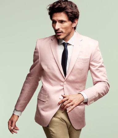 h & m Sakko 2012  Audaz blazer en palo de rosa