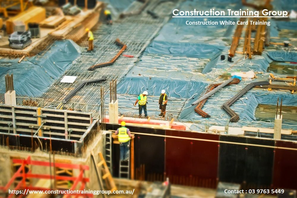 Accredited construction induction, white/red card training