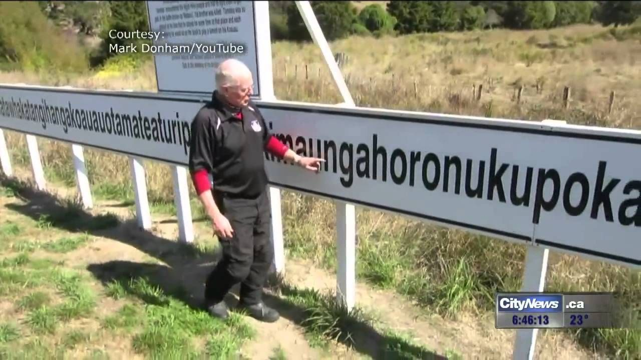 How to pronounce longest name in Canada  How to pronounce, Town