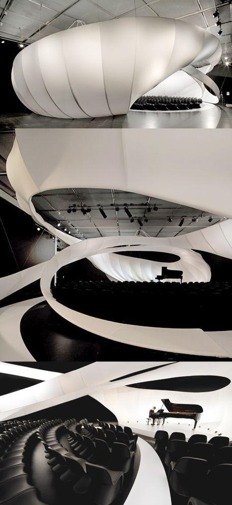 zaha hadid architects pinterest architecture organique et conception sc nique. Black Bedroom Furniture Sets. Home Design Ideas