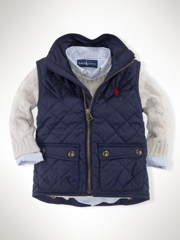 Ralph Lauren Infant Boys Outerwear & Jackets - RalphLauren.com